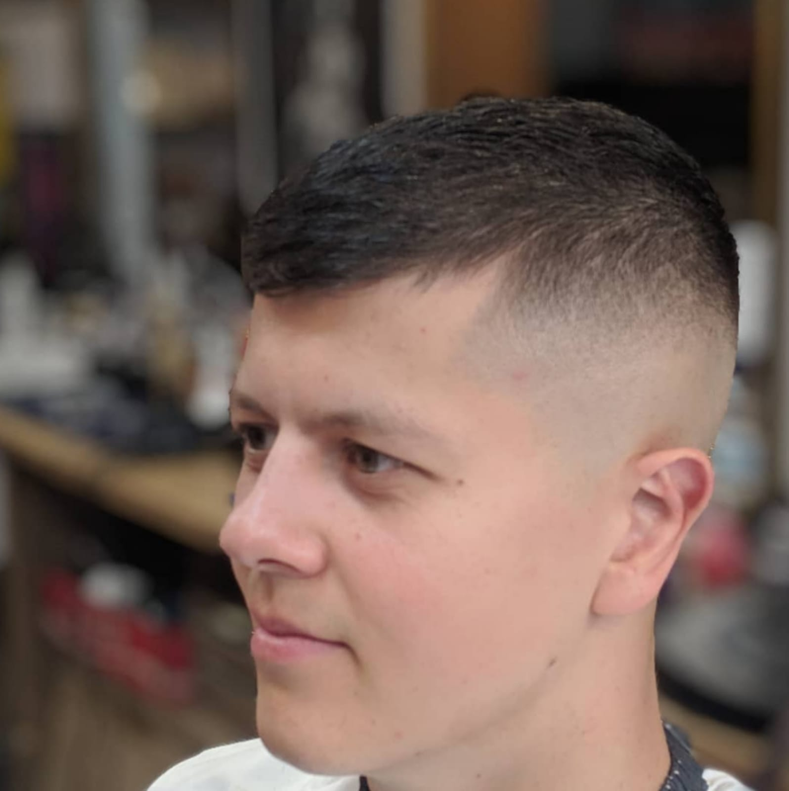 Skin fade front
