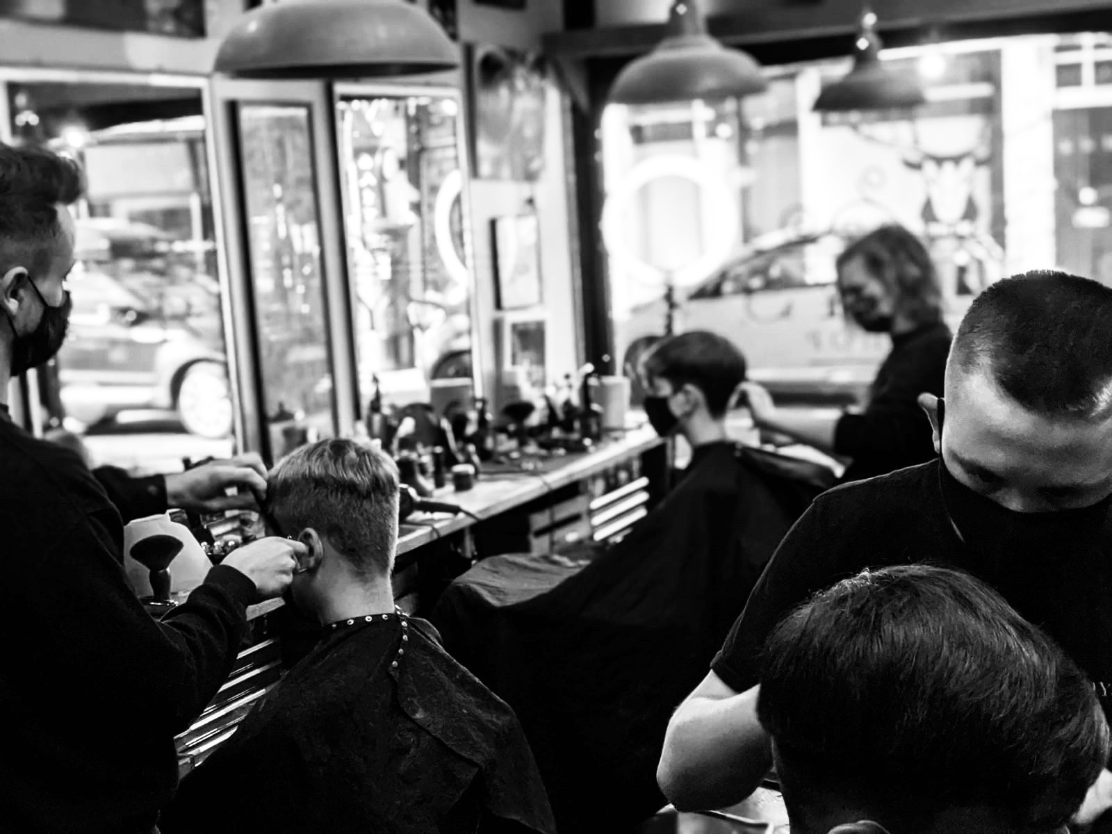 The rest of the team at Reidys Barber shop
